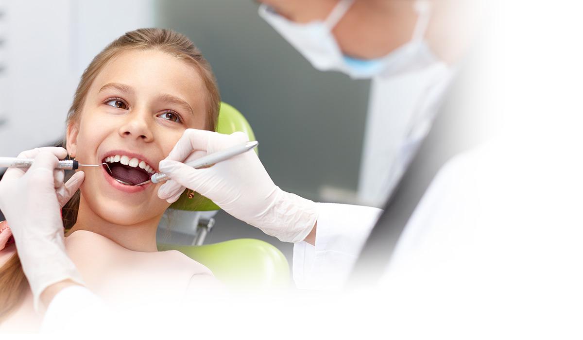 Boy in Dentist Chair