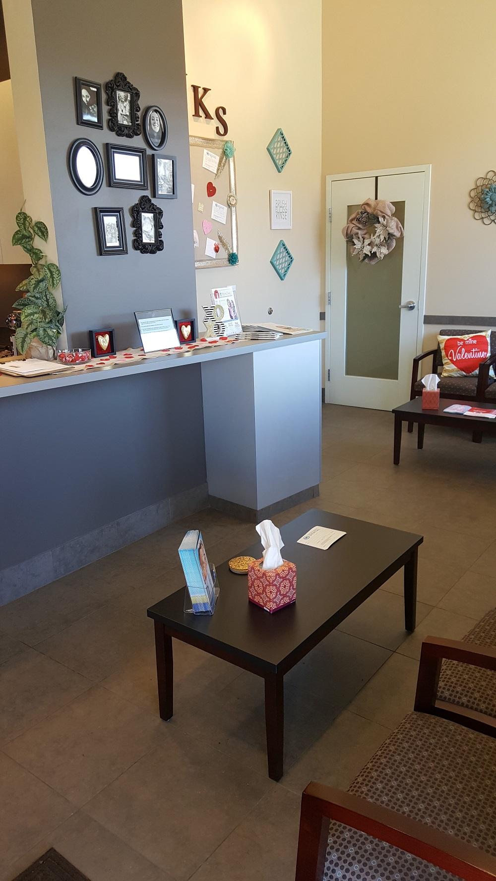 Waiting Room at Central Park Modern Dentistry